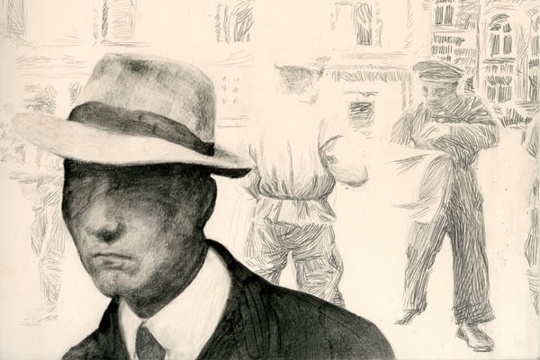 Man with fedora